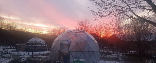 A Greenhouse Dome for Schools
